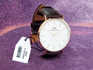 Daniel Wellington watch (Photographer: Will Anderson for Bloomberg Businessweek)